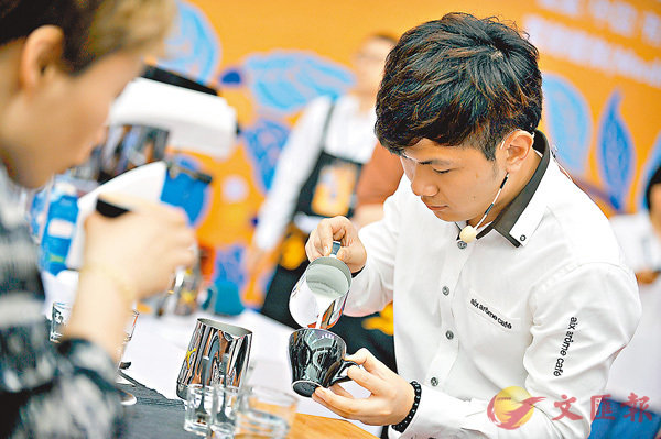 ■不少年輕人加入咖啡師行列。資料圖片
