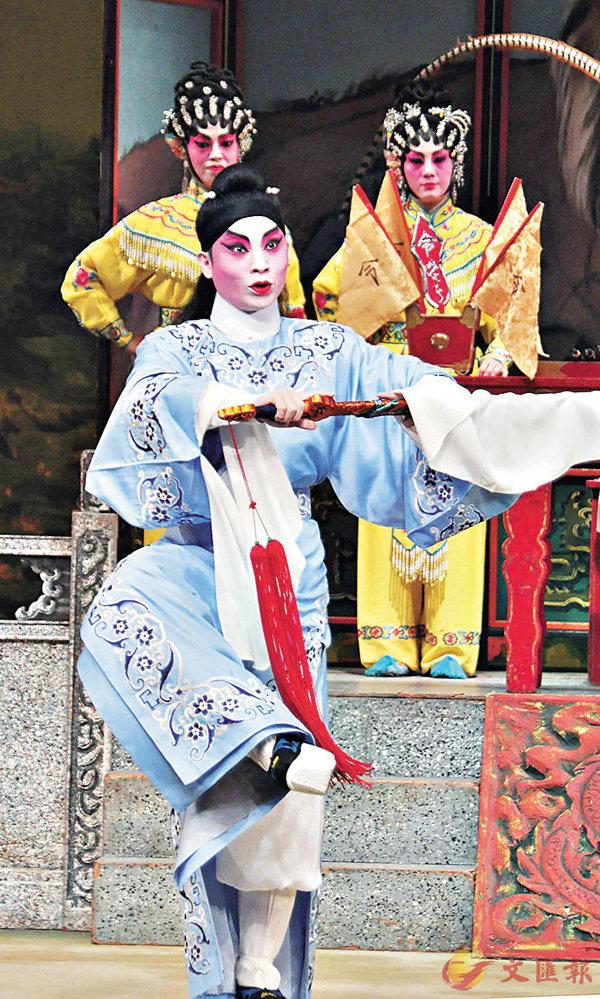■宋洪波演過不少聲哥的戲,常練香港粵劇武藝功架。