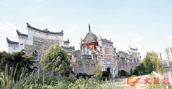 ■建在洞口伏龍洲上的蕭氏宗祠(蘭陵會館)