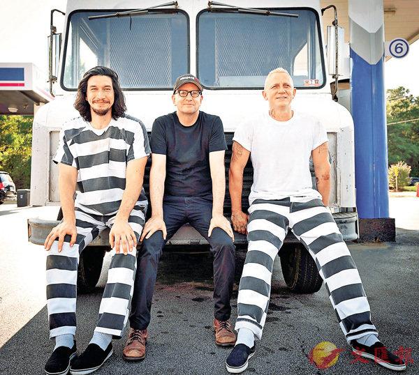 ■史提芬蘇德堡(中)繼《盜海豪情》系列後再拍犯罪片。