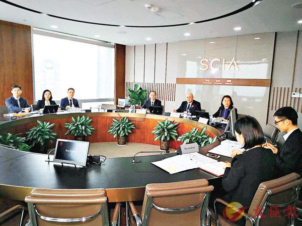 ■香港大律師、香港證監會前主席梁定邦被聘請為副理事長。香港文匯報記者李望賢 攝