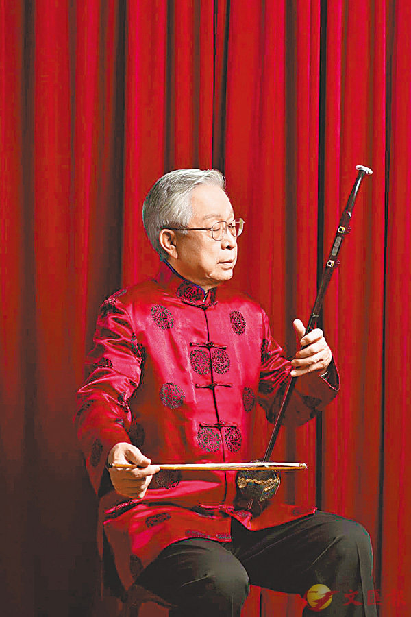■王國潼竭盡畢生精力傾注於弘揚二胡音樂。 受訪者提供