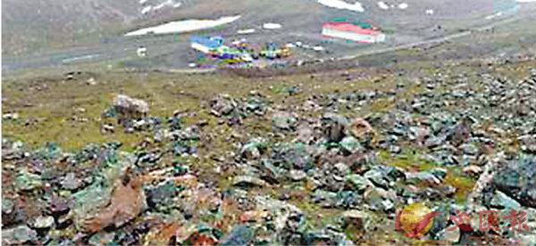 ■近年來,祁連山局部生態遭到人為破壞嚴重。 網上圖片