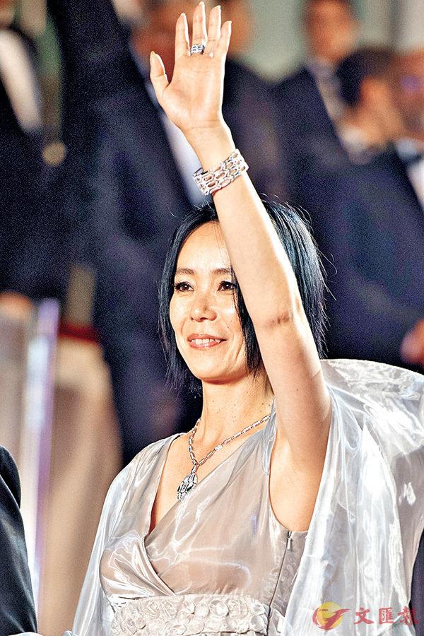 ■日本導演河瀨直美早前在康城影展中出席電影《光》首映禮。