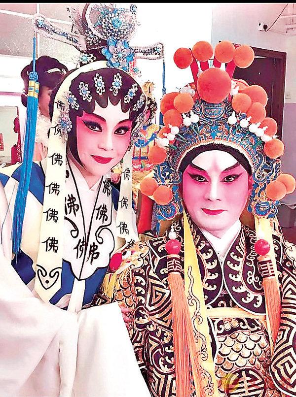 ■胡紫雯與李秋元是好拍檔。