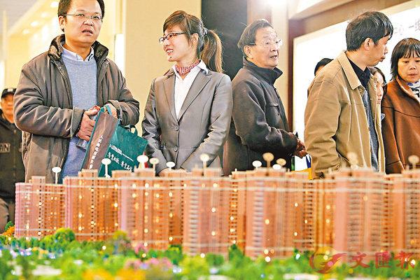 ■上海新盤成交均價按年僅升1.1%。資料圖片