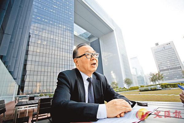 ■廖長江強調世界各地的議會都是少數服從多數。 資料圖片