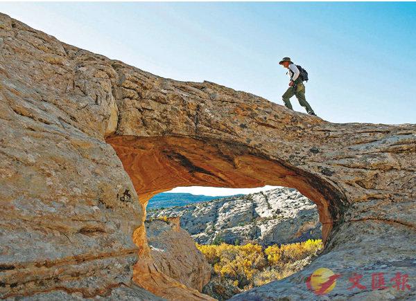 ■猶他州自然保育區遭大幅縮減面積。 路透社