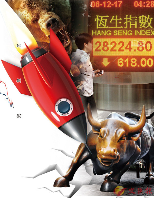 ■港股昨跌2.14%,創15個月以來最大單日跌幅。 中通社