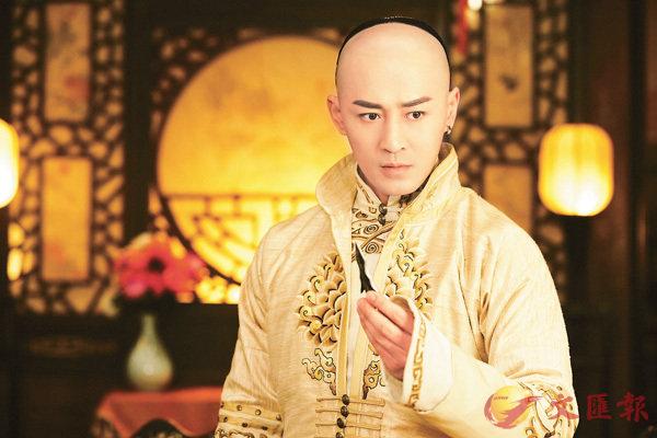 ■林�葧ㄗ麮臚@次要剃光頭飾演皇太極《獨步天下》。