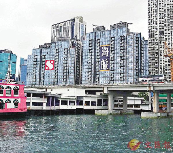 ■海璇第1座10樓A及B兩個臨海大單位,由同一買家以逾1.58億元購入。資料圖片