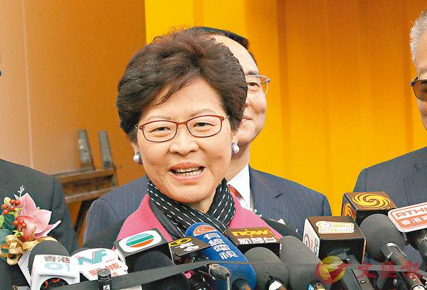 ■林鄭月娥指議員回應市民訴求修改議事規則,是無可厚非的。香港文匯報記者彭子文  攝