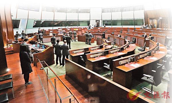 ■立法會日前終成功通過由建制派議員提出的議事規則修訂。 香港文匯報記者梁祖彝  攝