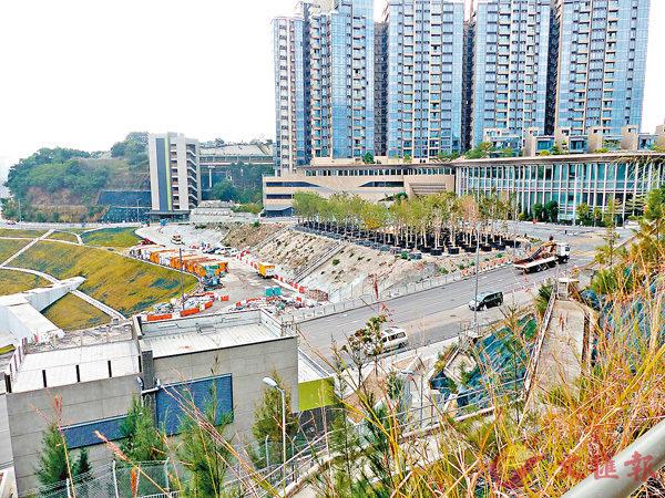 ■今明兩年以九龍城區的落成量最高。圖為何文田站。