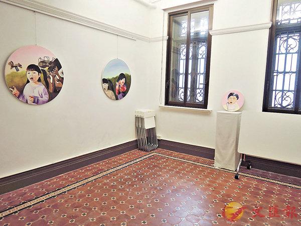 ■V54除了工作環境外,亦提供展覽場地,供駐留藝術家展出作品。