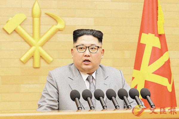 朝首表態戰冬奧  「核按鈕」威脅美 (圖)