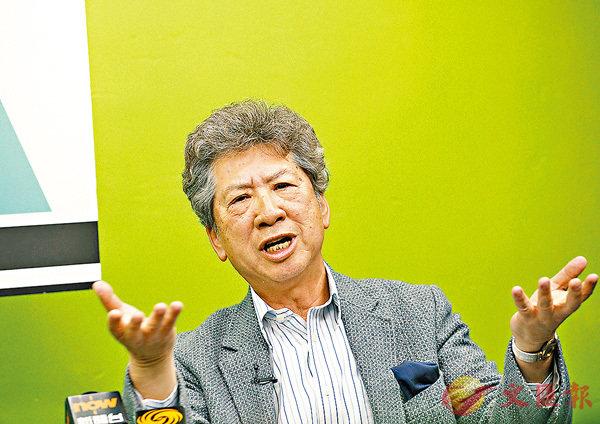 ■湯家驊質疑大律師公會的講法不持平、 不全麵、不專業。香港文匯報記者劉國權 攝