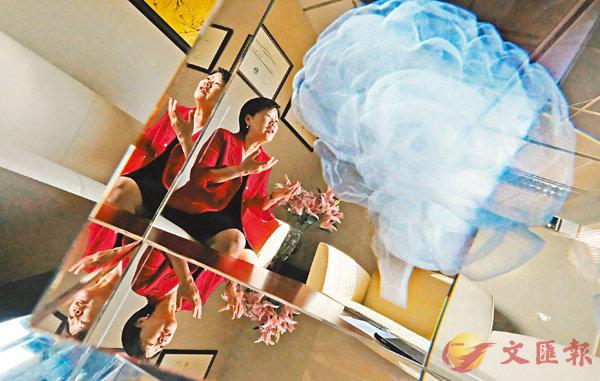 ■科技大學首位女副校長葉玉如專注神經生物學領域發展,最終成為世界知名的科學家。 香港文匯報記者梁祖彝  攝