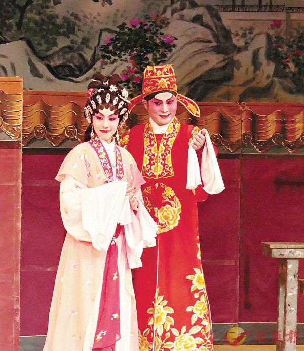 ■謝曉瑩與龍貫天是「金靈宵」的主要台柱。