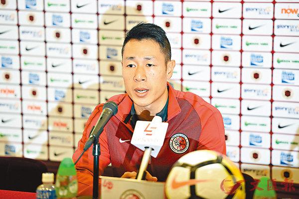 ■香港隊主教練郭嘉諾。 新華社