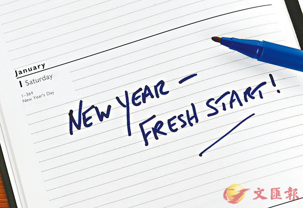 【告別爛英語】實行新年大計靠決心 (圖)