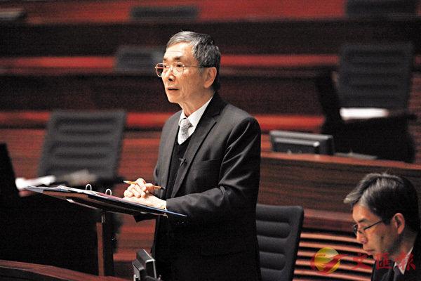 ■劉怡翔指,香港一直以來擁有發展成熟的電子支付生態。香港文匯報記者曾慶威  攝