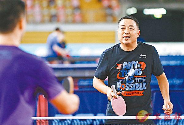 ■前中國乒乓總教練劉國梁。 新華社