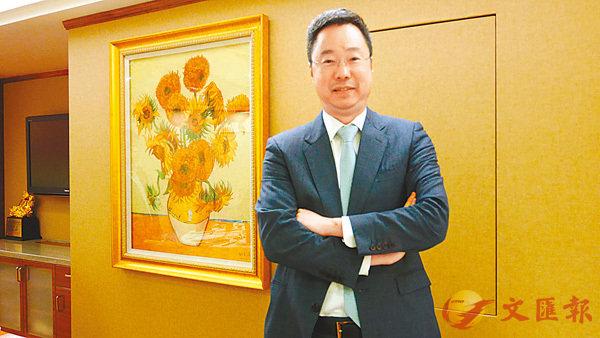 ■永隆銀行司庫蕭啟洪認為,本港最快在第2季跟隨美國加息。香港文匯報記者馬翠媚  攝