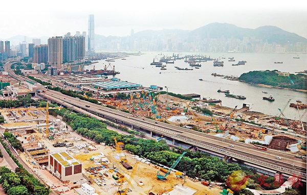 ■政府雖然不斷增加土地供應,但長沙灣興華街西對出住宅地皮去年11月則以172.88億元天價賣出。 資料圖片