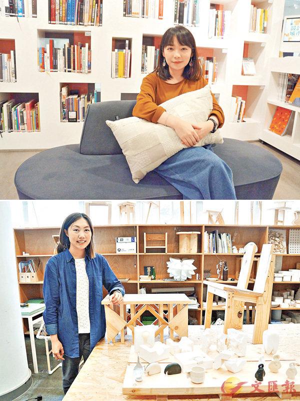 ■(上圖)符士汶重視設計中的社會責任。(下圖)梁康勤現於香港兆基創意書院任教設計課。