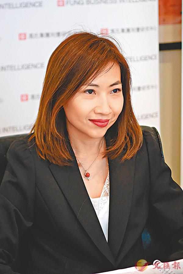 ■利豐研究中心副總裁林詩慧。香港文匯報記者梁祖彝  攝
