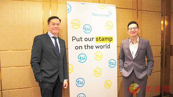 ■莊永楷(左)期望可參與KYCU平台的籌建。香港文匯報記者馬翠媚  攝