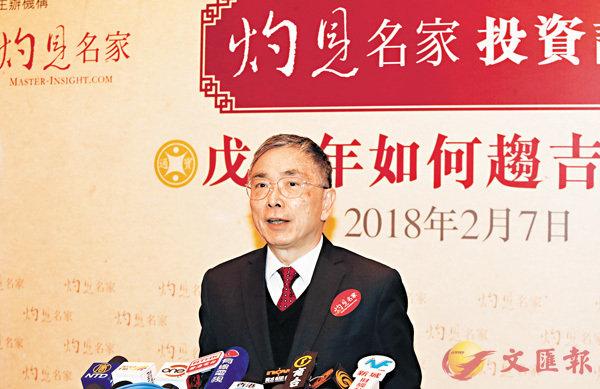 ■劉怡翔稱,政府會繼續留意資產價格會否出現泡沫。 劉國權  攝