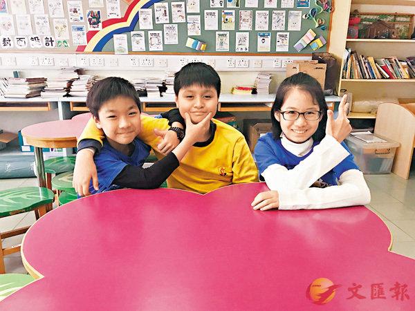 ■左起:言康政、賀朗及趙穎芝。香港文匯報記者唐嘉瑤  攝