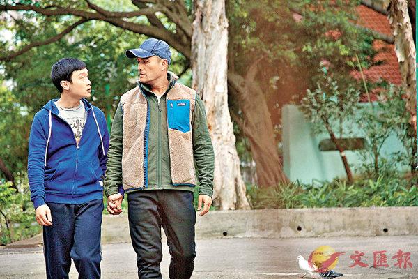 ■首次演出電影的舞台劇演員凌文龍飾演呂良偉兒子。