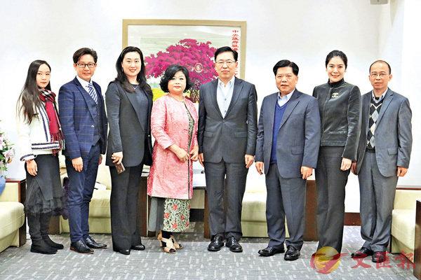 ■傑出商界女領袖協會到訪中聯辦新界工作部。