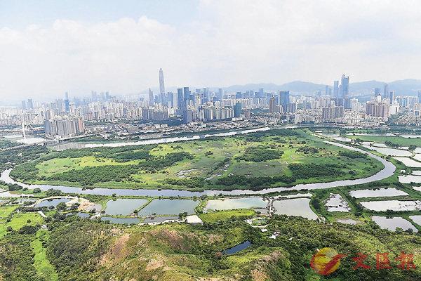 ■落馬洲河套地區「港深創新及科技園」有望解決藥材進口香港的問題。 資料圖片