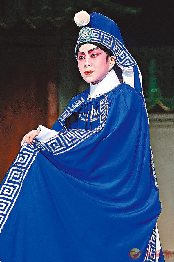 ■文華在粵劇《帝女花》中飾演周世顯。