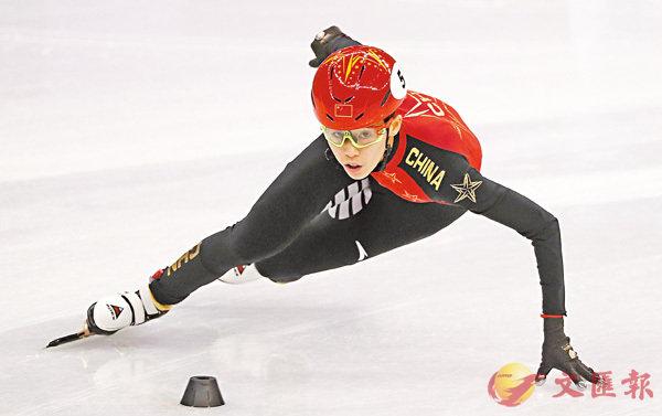 ■范可新今衝擊女子短道速滑500米金牌。 路透社