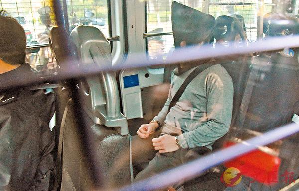 ■大埔公路車禍肇事司機陳浩明被控一項「危險駕駛導致他人死亡」罪,昨在粉嶺裁判法院提堂。 香港中通社
