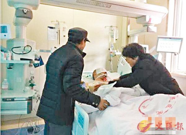 ■兩位老人鄭重地替因車禍重傷不治的兒子黃興(化名)作出了捐獻器官的決定,此舉至少能挽救3個人的生命。 網上圖片