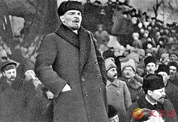 ■俄國十月革命領袖列寧。