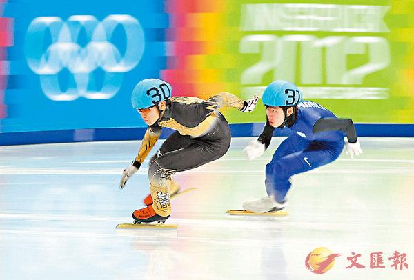 ■日本短道速滑選手齋藤慧(左)藥檢呈陽性。路透社