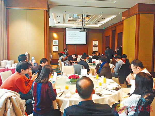 ■香港貿發局日前在深圳舉行2018年新春媒體會議。