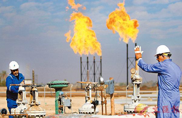 ■2018年油價持續上漲可能性高,對股市相關企業造成成本壓力。圖為伊拉克油田。資料圖片