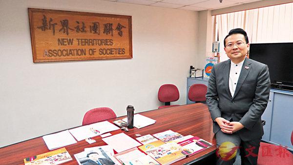 ■陳勇慨嘆,香港回歸至今,未能有效促進港人尤其青年學生對國家的認同。香港文匯報記者朱朗文 攝