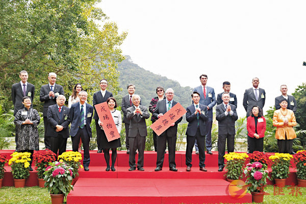 ■香港大學昨日舉行傳媒春茗,分享港大的最新發展大計。香港文匯報記者莫雪芝  攝