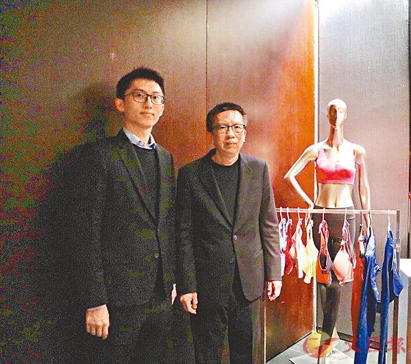 ■洪游奕(右)指,第四個越南廠房將於今年第四季完工。 香港文匯報記者張美婷  攝