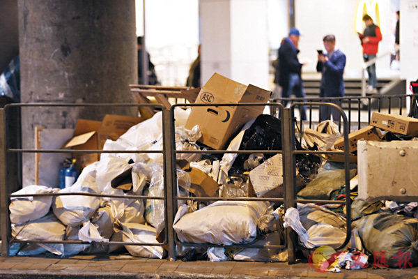 ■本港可參考鄰近地區如台灣及東京的回收減廢措施。 資料圖片