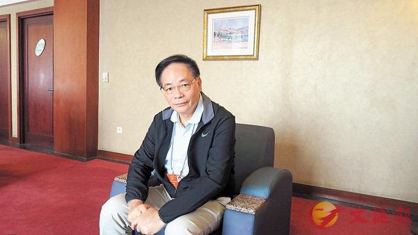 ■葉國謙表示,人大立法細緻嚴謹,運作模式不斷改進。 香港文匯報記者朱朗文  攝